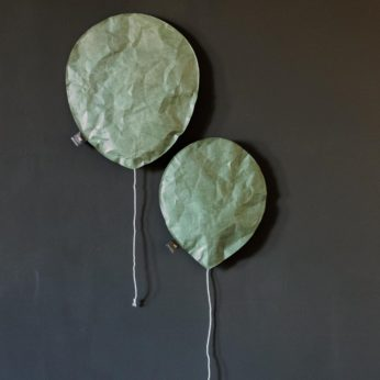Luftballonlampe Grün L