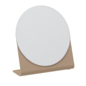Kosmetikspiegel Braun