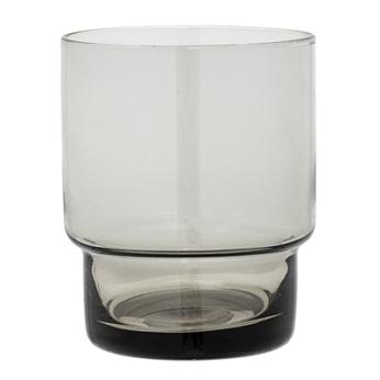 Trinkglas Tranparent Grau
