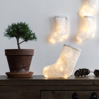 Leuchtender Stiefel