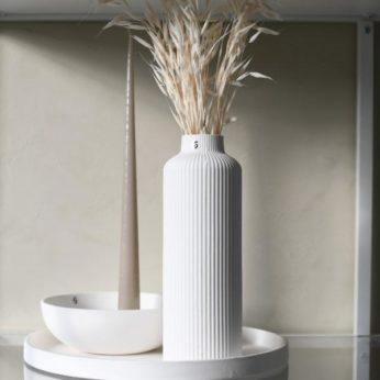Vase Ådala Weiß