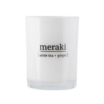 Duftkerze Meraki [white Tea + Ginger]