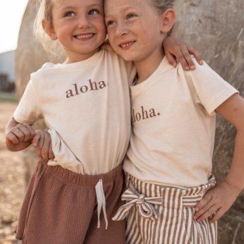 T- Shirt – Aloha.
