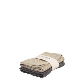 Geschirrspültuch Tullebo 2er Pack Beige/grau